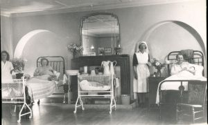 Sisters born at Prested Hall