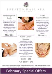 Spa Treatment Offers